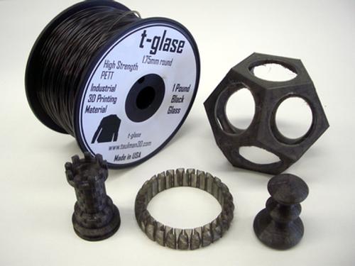 Taulman Black T-Glase Filament - 1.75mm