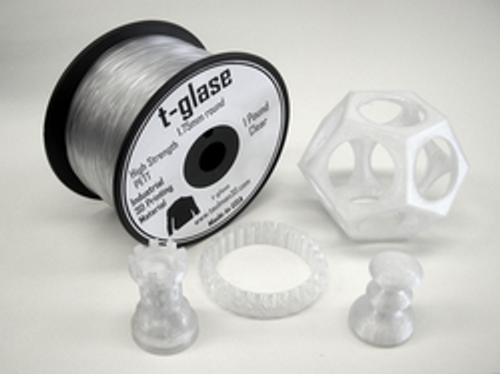 Taulman Clear T-Glase Filament - 1.75mm