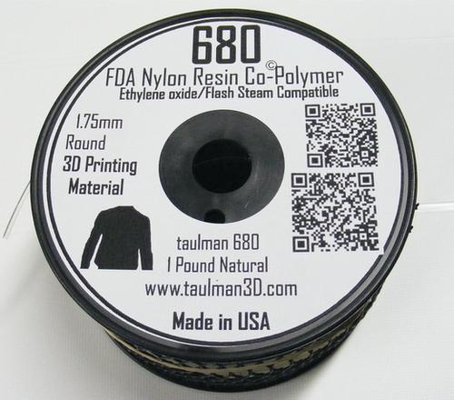 Taulman Nylon 680 FDA Filament - 1.75mm