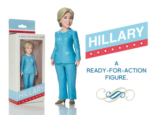Hillary Action Figure Remix