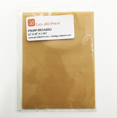 """6""""x8"""" Cell / PerfBoard for 3D Printing / Printer"""