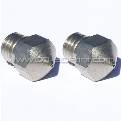 Micro Swiss High Lubricity Wear Resistant Nozzle Upgrade MK10 0.6 mm (2 pcs)