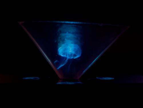 DIY Smartphone Hologram Screen
