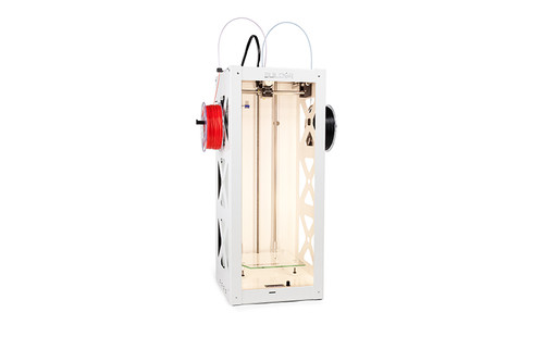 Big Builder Dual-Feed Extruder Mixing Color 3D Printer (White Edition)
