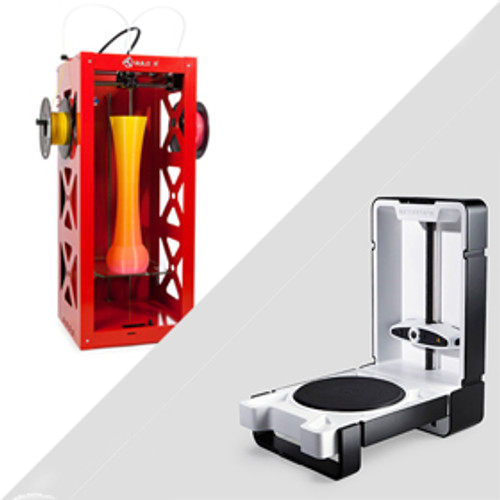 Big Builder 3D Printer / Matter & Form Scanner Bundle