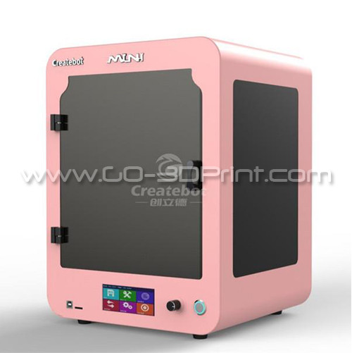 CreateBot Touch Screen Mini 3D Printer w/ Heatbed (Black)