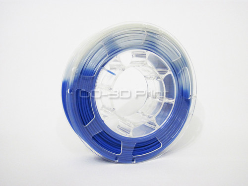 Temperature Color Changing Blue to White PLA 3D Printing Filament 225g