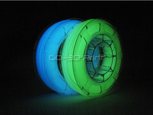 Glow in the Dark PLA 3D Printing Filament Value Pack 2x 225g