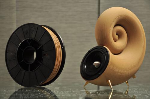 Fillamentum Timberfill 1.75mm 3D Printing Wood Filament, 750g Light Wood Tone