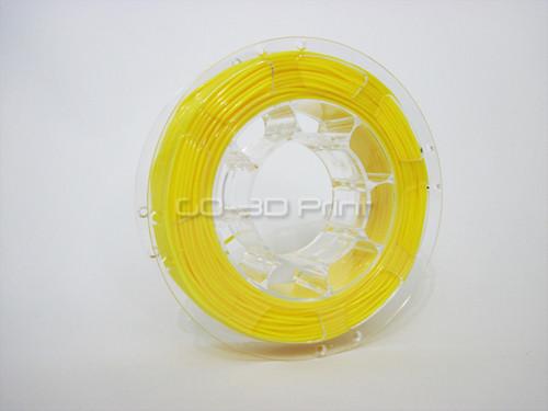 Yellow Flexible TPE 3D Printing Filament 1.75mm 200g