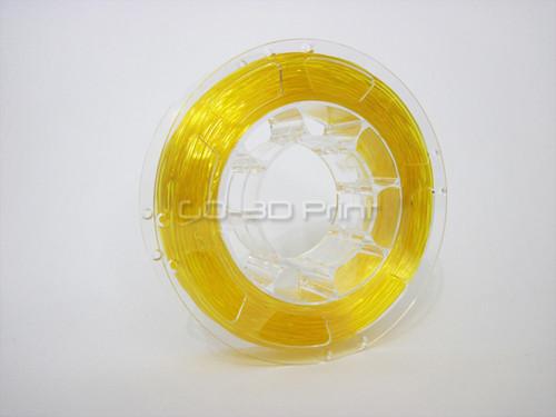 Transparent Yellow Flexible TPU 3D Printing Filament 1.75mm 200g