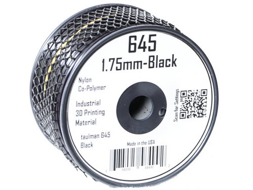 Taulman Nylon 645 Filament (Black) - 1.75mm