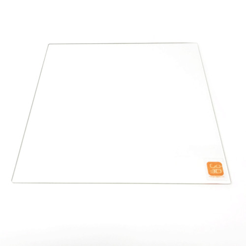 130mm x 130mm Borosilicate Glass Plate for 3D Printing