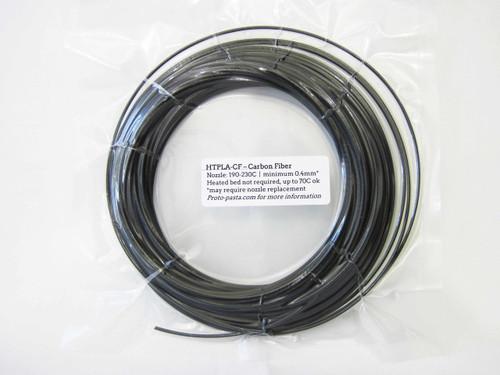 Proto-Pasta High Temperature Resistant Carbon Fiber PLA 3D Filament 1.75mm (50g) Sample