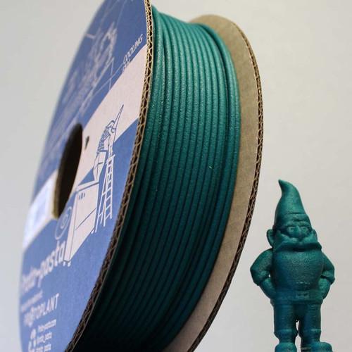 Proto-Pasta Matte Fiber HTPLA - Green 3D Printing Filament 1.75mm (500 g)