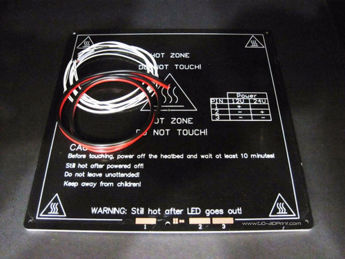 220mm x 220mm MK3 Aluminum Heated Bed DIY Kit
