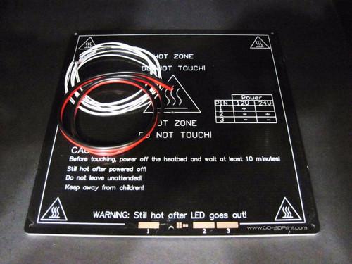 220mm x 220mm MK3 Aluminum Heated Bed DIY Kit
