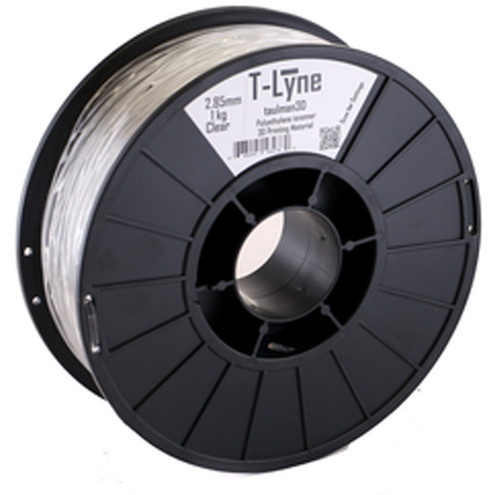 Taulman Clear T-lyne Flexible 3D Printing Filament - 1.75 mm