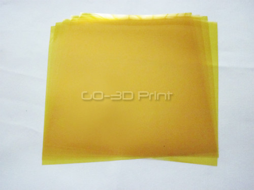 Kapton Heat Resistant Polyimide Tape 220mm x 220m Pre-cut (5 pcs) for 3D Printing