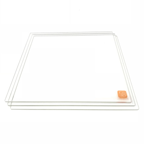 140mm x 140mm Borosilicate Glass Plate for 3D Printing - 3 Pcs