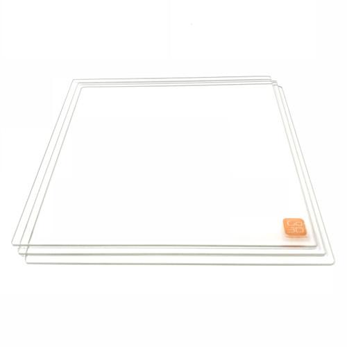 140mm x 140mm Borosilicate Glass Plate for 3D Printing - 3 Pcs