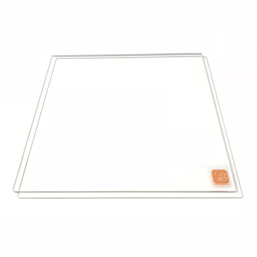 140mm x 140mm Borosilicate Glass Plate for 3D Printing - 2 Pcs