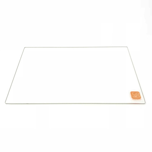 254mm x 237mm Borosilicate Glass Plate Bed Flat Polished Edge for 3D Printer