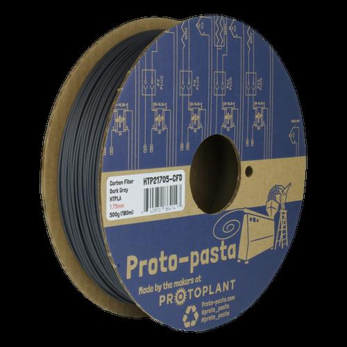 Proto-Pasta HTPLA Carbon Fiber Composite HTPLA 3D Filament - Dark Gray 1.75mm