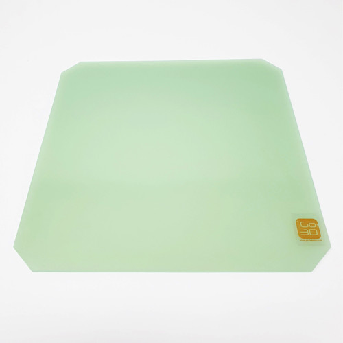 220mm x 220mm Polypropylene Glass Fiber Plate Bed w/Corners Cut for 3D Printing
