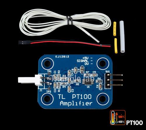 Trianglelab V6 PT100 Amplifier Board w/High Temperature Thermistor Cartridge Set for V6 Hotend 3D Printer