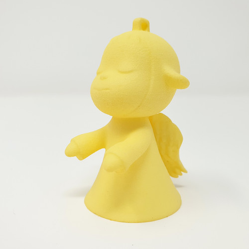 Yoshitomo Nara Inspiration The Little Wanderer Angel Figure Charm Pendant
