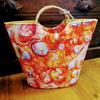 Orange Shell Bag