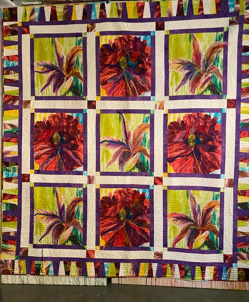 Floral Portraits Quilt Kit