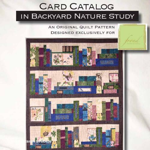 Card Catalog Quilt Kit