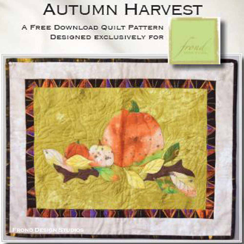 Autumn Harvest Pattern Download (FREE)