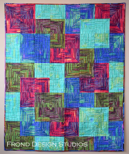 Stacked Squares Pattern
