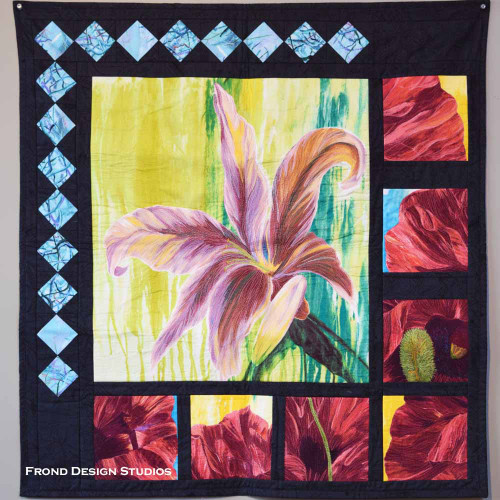 Feng Shui featuring Lily and Poppy Quilt Kit