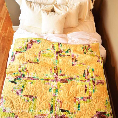Magical Log Cabin Quilt Kit