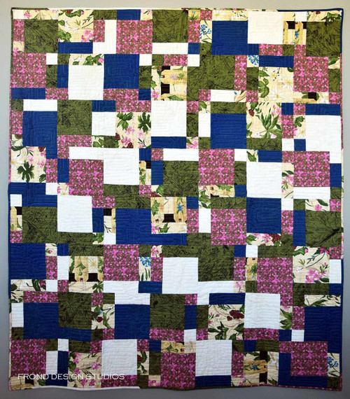 High Five in Backyard Quilt Kit