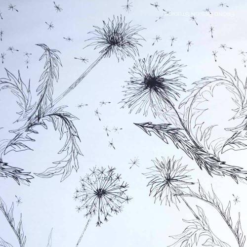 Painting Dandelions: Weeds