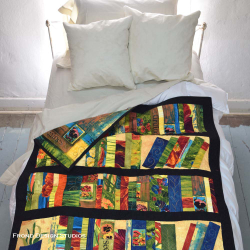 Book Shelf Quilt Pattern Download