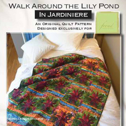 Walk Around The Lily Pond Pattern Download