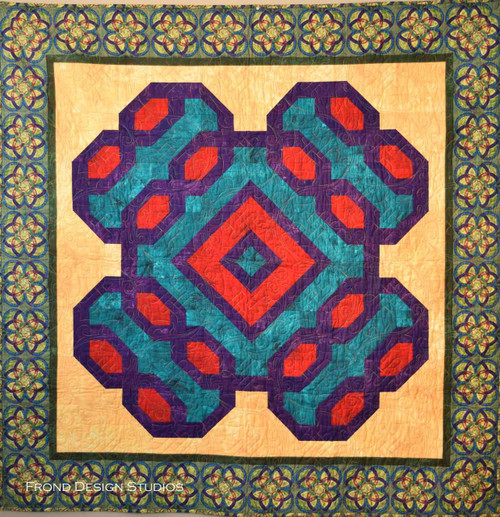 Lock and Key Quilt