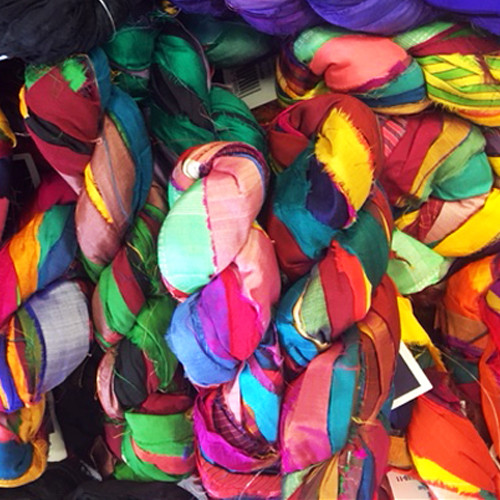 Silk Sari Ribbon