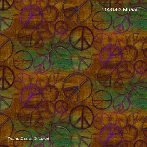 Peace Bomb - Mural