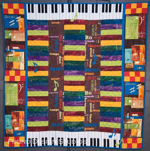 Notes to Self Quilt
