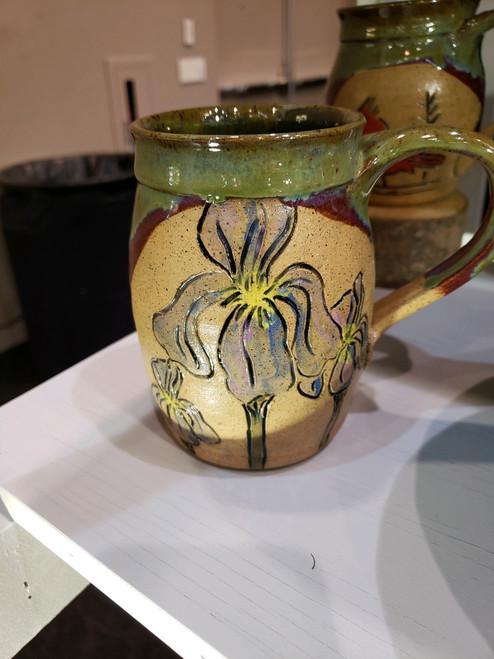 Blue Iris Mug