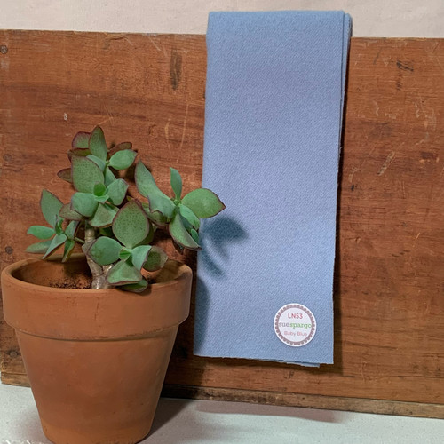 Baby Blue - Hand Dyed Merino Wool