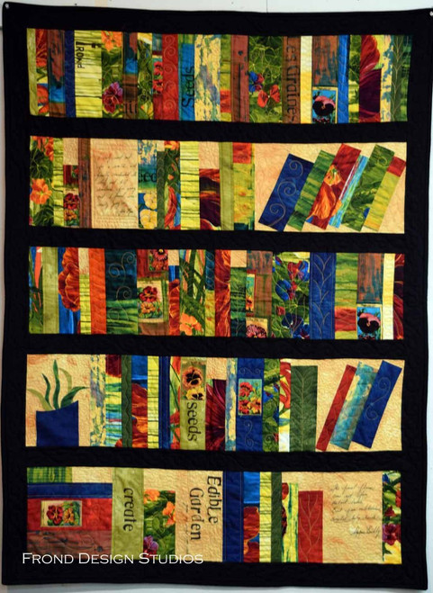 Book Shelf Quilt Pattern