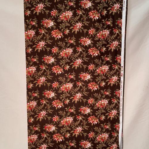 Vintage Floral in Chocolate